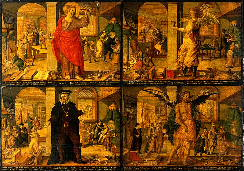 The Physician as God, Angel, Man, and Devil